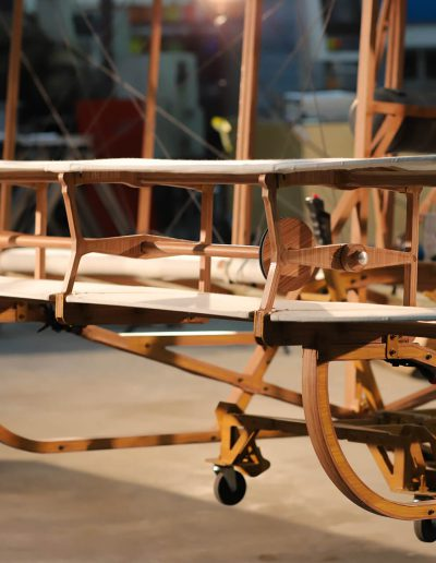 Detailed view of the plane designed for the final sequence of Flight