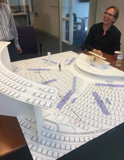 Planning Stage - choreography of the plane