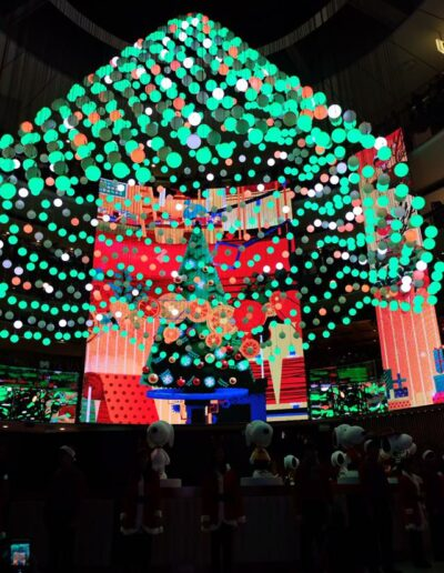 Seasonal show at Resorts World Genting